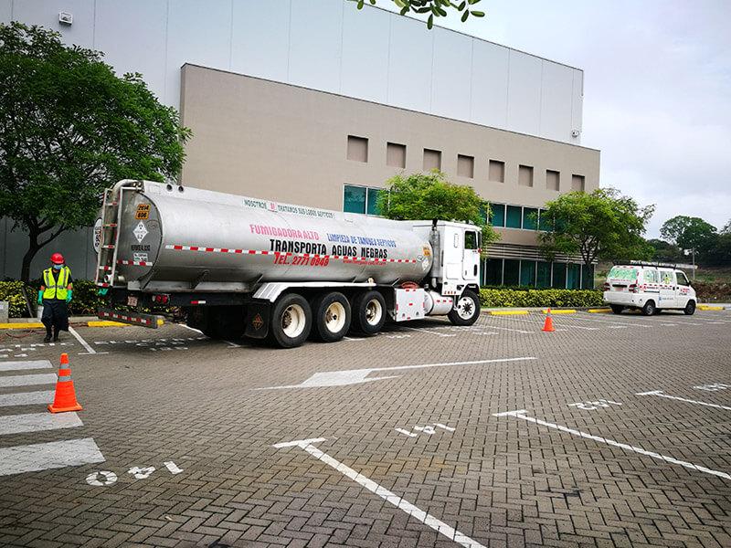 Fumigación, limpieza de tanques en comercio e industria - Costa Rica