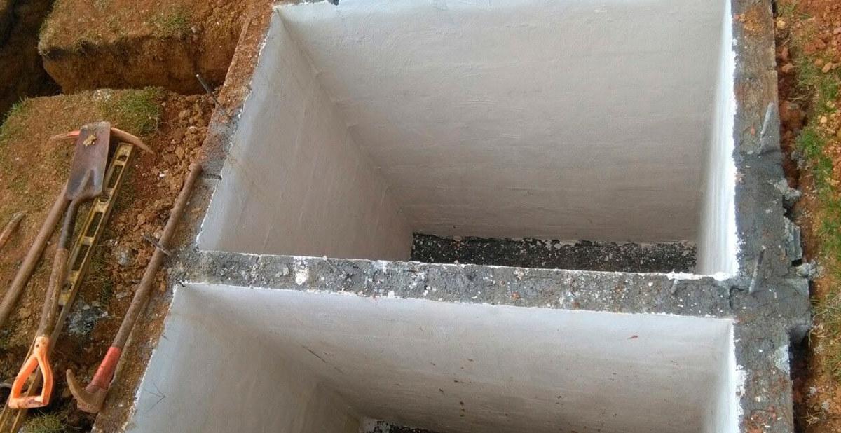 Construcción de tanques sépticos y drenajes sanitarios