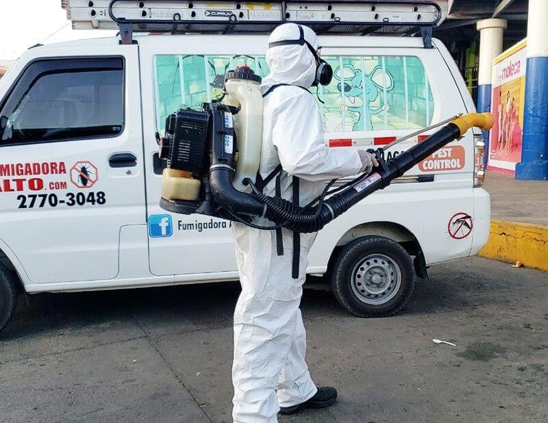 Desinfección y Sanitización en Áreas Comunes